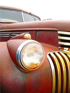 Red Rust 1946 Chevy