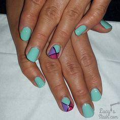 nice nail art - Lucy's Stash