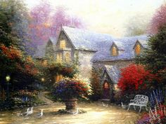 Thomas Kinkade Disney | thomas kinkade disney