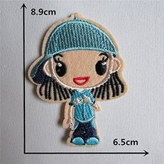 FairyTeller High Quality Mixture Sell Paillette Patch Hot Melt Adhesive Applique Embroidery Patch Diy Clothing Accessory Patch C487-C655 *** Click on the image for additional details.
