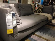 Ikea couch - also called Stockholm