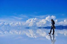 Солончак Уюни в юго-западной Боливии #боливия #солончак #уюни