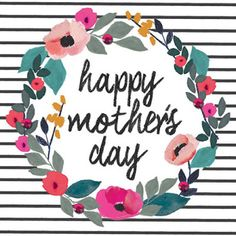 print & pattern: MOTHER'S DAY 2017 - stop the clock