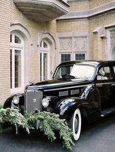Samantha Joy Events Vintage Car for Wedding Get Away car Cincinnati wedding Wedding Exits, Wedding Car, Wedding Goals, Plan Your Wedding, Wedding Blog, Fall Wedding, Wedding Styles, Wedding Dreams, Classic Weddings