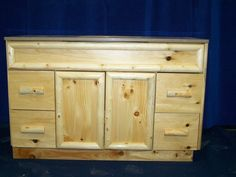 Knotty Pine Bathroom Vanity knotty pine cabinetrustic bathroom vanities | newly finished