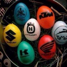 Motocross Easter Eggs