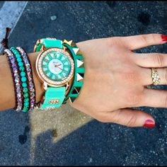 Hpdial Classy Teal Watch