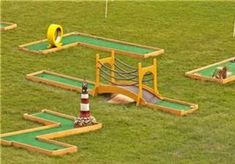 home made mini golf course - Bing Images