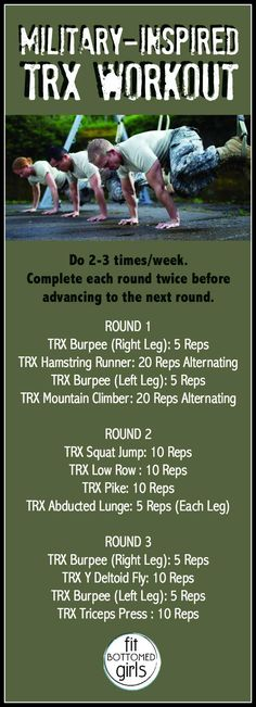 We have a military-inspired TRX workout that's perfect to do today.
