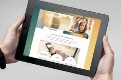 Corporate Website Responsive Design iPad Tablet Online Buchungstool netagenda