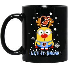Baltimore Orioles Mug Let It Snow Coffee Mug Tea Mug