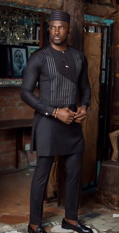 African Men Jackets, African Suits, Ankara Jackets, These men appearance us what macho appearance sh African Shirts For Men, African Dresses Men, African Attire For Men, African Clothing For Men, African Wear, African Suits, African Style, African Male Dress, American Clothing