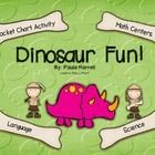 Kids LOVE dinosaurs! Here are 4 fun activities to add to your centers during your dinosaur study. Great for Preschool and Kindergarten intervention...