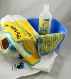 Washing up after Fairtrade Fortnight!  This was our day 15 prize of some Clean & Fair washing up liquid, a Fairtrade Foundation tea towel and a washie made with our Debbie Bliss Fair Trade cotton yarn   #fairtradefortnight #fairtrade #youeattheyeat #cotton  www.fairtradefabric.co.uk