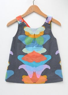 Butterfly Roly Poly Pinafore