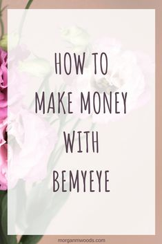 I came across BeMyEye when I was looking for new ways to make extra money from my phone, you can earn money doing quick mystery shop type missions. Ways To Save Money, Money Tips, Money Saving Tips, How To Make Money, Cash From Home, Make Money From Home, Make Money Blogging, Make Money Online, How To Start A Blog