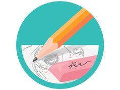 Drawing Badge