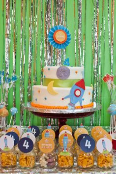 Rocket Ship Birthday Party