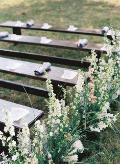 Elegant Nashville Fall Wedding #wedding #seats #gardenwedding