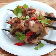 Chicken Skewers - Mint Leaf Cuisine - Zmenu, The Most Comprehensive Menu With Photos