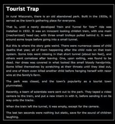well that settles it. I am never going on a train again. This is why I'm scared of tunnels Short Creepy Stories, Short Horror Stories, Scary Stories To Tell, Spooky Stories, Ghost Stories, Creepy Pasta Stories, Sad Stories, Bedtime Stories, Creepy Facts