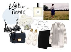 """""""Untitled #932"""" by parisheartschic ❤ liked on Polyvore featuring Ethan Allen, Warehouse, Kiki de Montparnasse, Elizabeth and James, Neil Barrett, Eight & Bob and Wouters & Hendrix Gold"""
