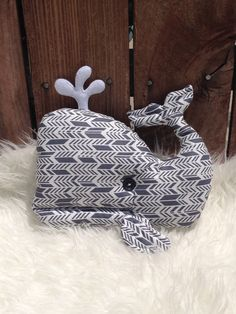 Whale plush stuffed animal pillow nautical or by Thewhimsicaltot, $25.00