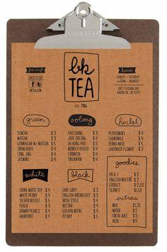 BK Tea by Christopher J. Lee, via Behance