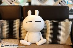 Tuzki plush is finally here! Now available on http://bulalatoys.taobao.com (China orders only)