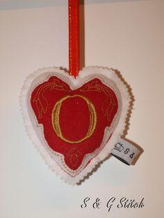 Aufhänger Herz - O