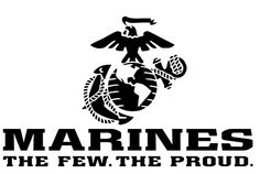 United States Marine Corps (USMC) The Few. The Proud. Vinyl Decal Purchase this product along with all of our other spectacular decals through one of the following links:   https://www.etsy.com/shop/MiaBellaDesignsWI  http://www.amazon.com/s?marketplaceID=ATVPDKIKX0DER&me=A2MSEOIVL689S1&merchant=A2MSEOIVL689S1&redirect=true