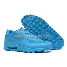 """Mens Air Max 90 Hyperfuse """"Independence Day"""" Blue"""