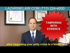 Tampering With Evidence, a Texas Crime - Lawyers Video By Dustin Sanchez TV