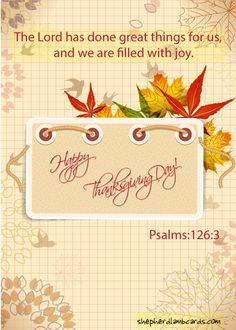 Thankfulness #ecards #christianecards
