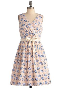 Pleased in Pacifica Dress.  This would be cute for the Kentucky Derby party!