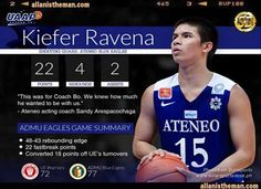 Ateneo eliminates UE from UAAP 76 final four race | http://www.allanistheman.com/2013/09/Ateneo-eliminates-UE-from-UAAP-76-final-four-race-video.html
