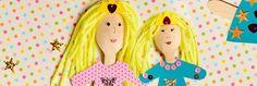 Papusi handmade – idei pentru parinti si copii
