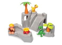 Tolo First Friends Dinosaurs - Mountain Play Set Shop Online - iQToys.com.au