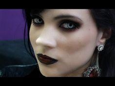 Gothic Makeup Tutorial   Tutorial de Maquiagem Gótica