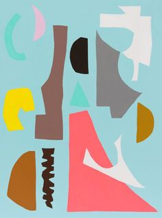 Abstract Paintings by Kirra Jamison