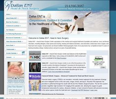 Dallas ENT – Head & Neck Surgery Center specializes in the medical and surgical treatment of pediatric and adult ear, nose, and throat disorders, including allergies, sleep apnea and snoring, hearing and balance disorders, voice disorders, endoscopic sinus surgery, and head and neck surgery Dallas Texas