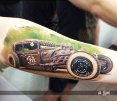 Realistic Tattoo by Alexander Romashev | Tattoo No. 13120
