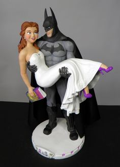 Get one-of-a-kind cake toppers to capture the unique love and interests of you and your partner