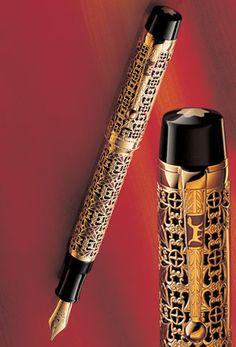 Montblanc - Patron of Art Edition Semiramis - gorgeous pen