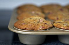 Strawberry & Poppy Seed Muffins photo