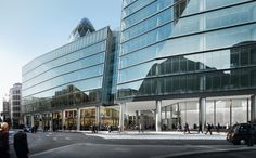 kpf london stone transparent facade - Google Search