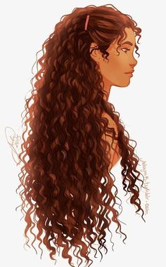 Woman with long curly brown hair and tanned complexion, nice picture for painting Black Love Art, Black Girl Art, Cartoon Girl Drawing, Girl Cartoon, Tracing Pictures, Digital Art Girl, Magic Art, Cartoon Art Styles, Curly Girl