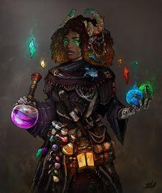 [OC] [Commission] [Art] Alchemist - Athlynariss the Copper Dragon, her companion named Esson : characterdrawing Female Character Design, Character Drawing, Character Concept, Concept Art, Dnd Characters, Fantasy Characters, Fantasy Inspiration, Character Inspiration, Dnd Druid