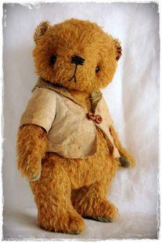 Vintage Style Mohair Bear #2 by By My Primitive Sistas | Bear Pile