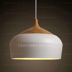 Modern Kitchen Pendant Lights White 11.8 Inch Diameter